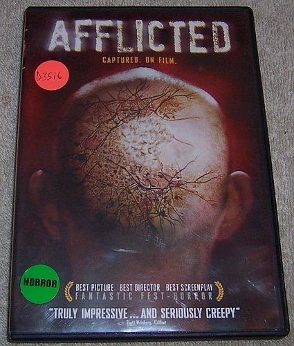 AFFLICTED DVD Derek Jeans,Clif Prowse,Baya Rehaz,Benjamin Zeitoun,Zach Gray
