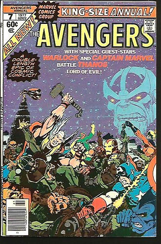 Avengers Annual 7 Jim Starlin DEATH OF WARLOCK Guardians of the Galaxy THANOS