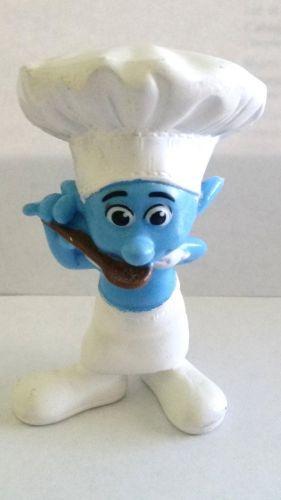 Peyo Smurfs Made For McDonalds Chef Smurf (405)