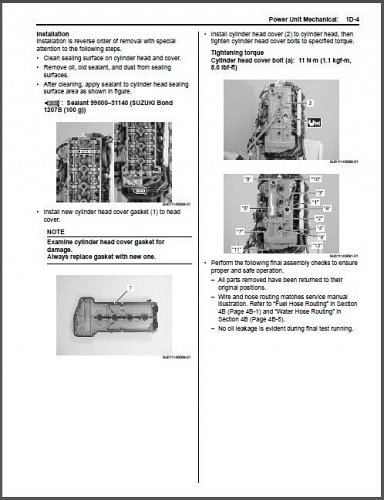 2009-1015 Suzuki DF70A DF80A DF90A Outboards Service Manual CD - DF 70 80 90 A