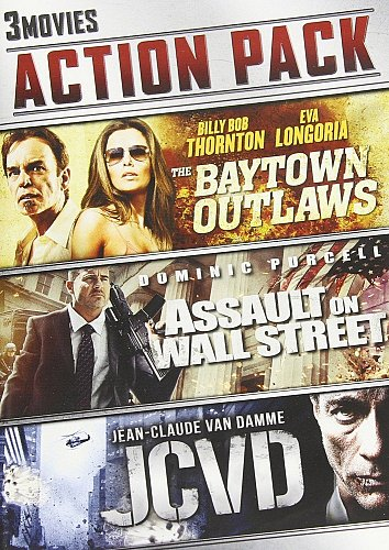 3Movie DVD The Baytown Outlaws,Eva LONGORIA,Billy Bob THORNTON Dominic PURCELL