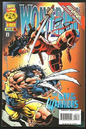 WOLVERINE #103 Marvel Comics 1996 ELEKTRA Direct, Onslaught