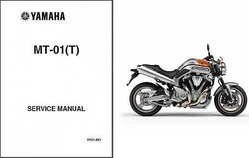 05-09 Yamaha MT-01 Service Repair Workshop & Owner's Manual CD --- MT01