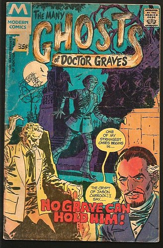 The Many Ghosts of Doctor Graves #25 Modern (Charlton) 1978
