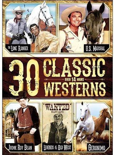 30epi DVD Clayton MOORE Jay SILVERHEELS Mary CASTLE John BROMFIELD Jim DAVIS
