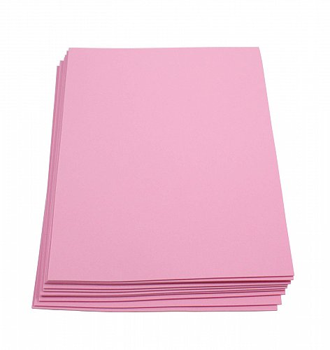 Craft Foam Sheets--9 x 12 Inches - Pink - 10 Sheets-2 MM Thick