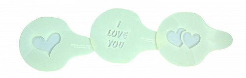 Sewing/Painting- Love Stencil Set -3 pcs-14 mil Mylar Template/Crafts
