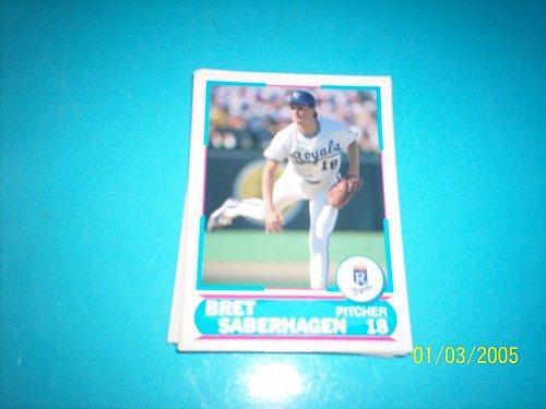 1988 Score Young Superstars series 11 baseball BERT SABERHAGEN #17 FREE SHIP