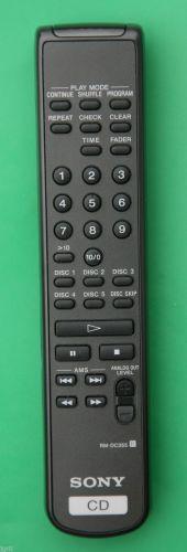 SONY RM DC355 REMOTE CONTROL CD changer CDP C5CS C5CSB CE245 CE275 CE345 CE375