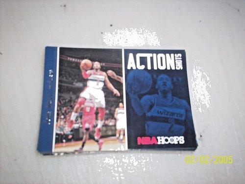 2013-14 Hoops Action Shots wizards Basketball Card #23 john wall free ship