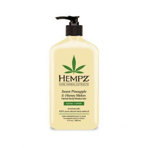 Hempz Sweet Pineapple and Honey Melon Herbal Body Moisturizer, 17 Ounce