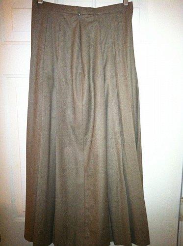 Gorsuch Skirt De Luxe Waldman Women`s 14 Wool