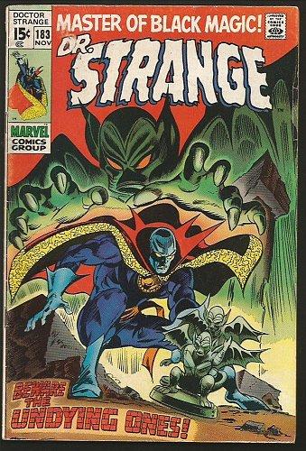 Dr. Strange #183 Gene Colan/RoyThomas (Master of Black Magic) Marvel Comics '69