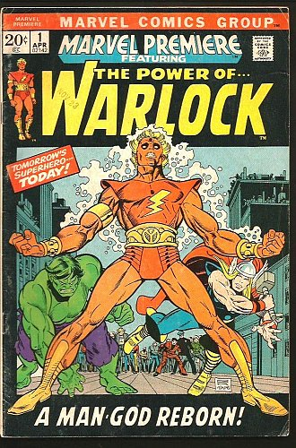 Marvel Premiere #1 POWER OF WARLOCK Guardians of the Galaxy 1971 Vol1 ORIGIN Key