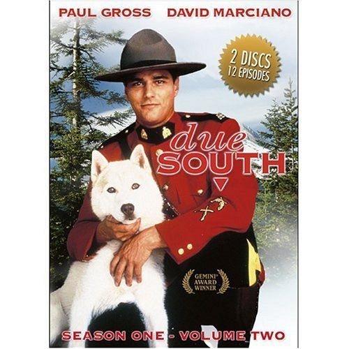 Due South DVD 12 EPISODES Season 1 Volume 2 TV show Paul GROSS Catherine BRUHIER