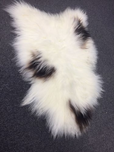 Genuine Sheepskin Rug or Throw, approx 120 cm x 80 cm