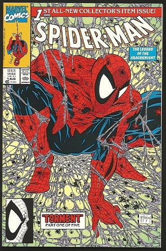 SPIDER-MAN #1 GREEN PURPLE version High Grade McFarlane 1990 MINT sold as NM 1st