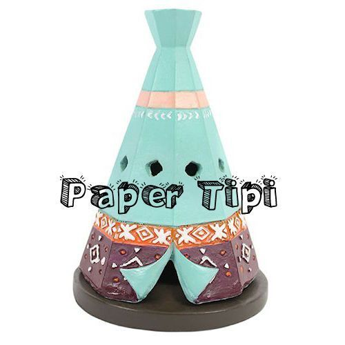 Tipi teepee wigwam incense cone holder cute quirky trendy