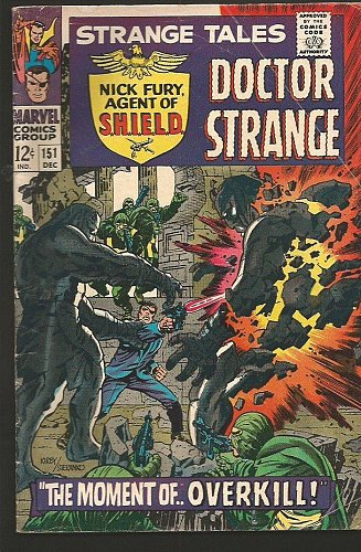 Dr. Strange #151 Fine Jack Kirby RoyThomas STERANKO Marvel Comics 1966 1stPrint