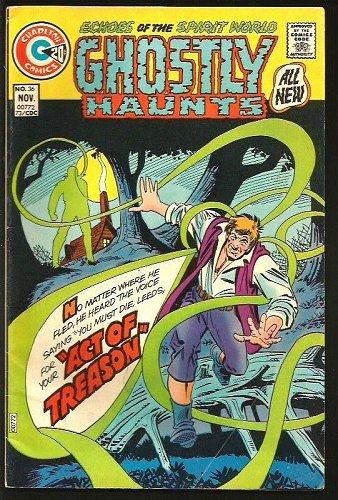 GHOSTLY HAUNTS #36 Steve Ditko Cover & Story 1973 Charlton Comics