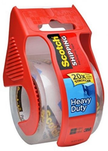 Scotch Heavy Duty Shipping Packaging Tape, 1.88 Inches X 800 Inches, 6 Rolls