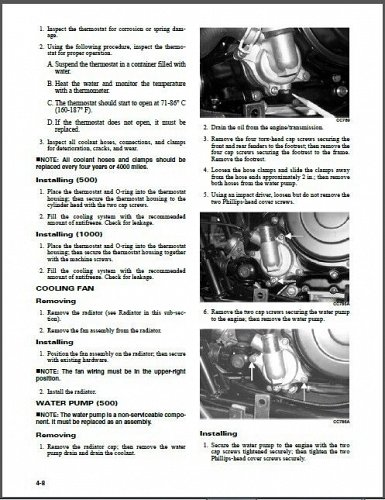 2013 Arctic Cat 500 700 1000 Mud Pro 1000 LTD Service Repair Workshop Manual CD