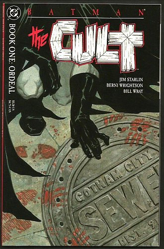 CULT #1 BATMAN High Grade DC COMICS 1ST PRINT Embossed Cover Starlin, Wrightson