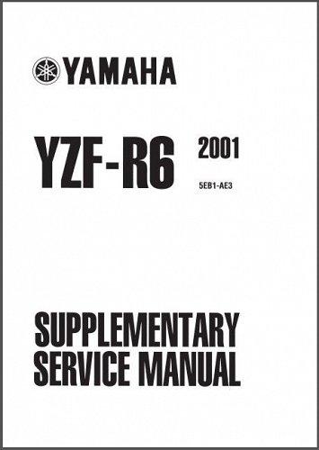 1999-2002 Yamaha YZF-R6 Service Repair Workshop Manual CD -- YZFR6