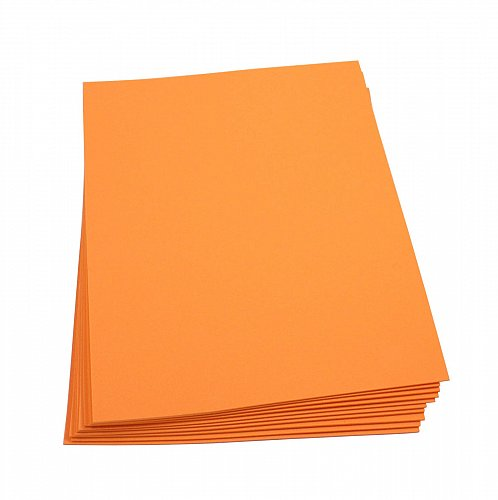 Craft Foam Sheets--9 x 12 Inches - Orange - 10 Sheets-2 MM Thick