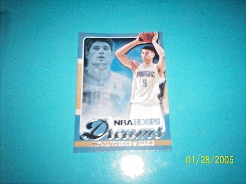 2013-14 NBA Hoops Dreams #11 NIKOLA VUCEVIC MAGIC Basketball Card free ship