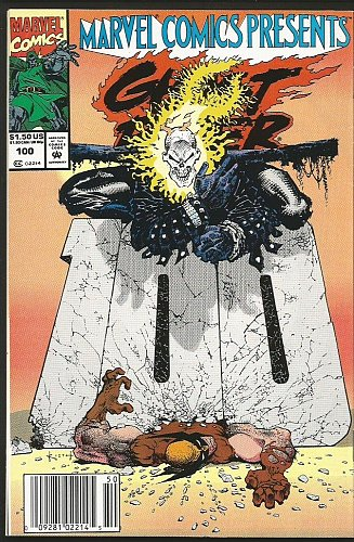 WOLVERINE: Marvel Comics Presents #100 1st print 1992
