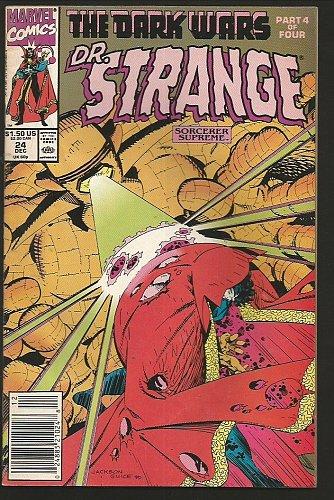 Doctor Strange #24 The Sorcerer Supreme VF+/NM- Marvel Comics 1991 Copper Age