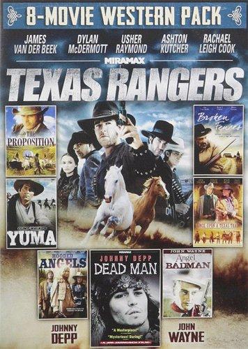 8movie DVD Texas Rangers,PROPOSITION,Dead Man,YUMA,Hooded Angels,Broken Fences