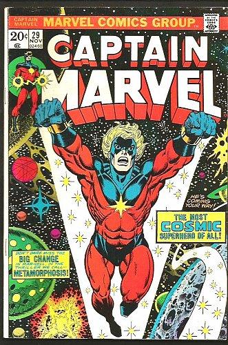 CAPTAIN MARVEL #29 Very Fine-/VF 1976 JIM STARLIN Guardians of the Galaxy