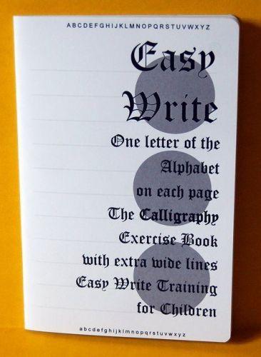 CALLIGRAPHY School Exercise Practice Book