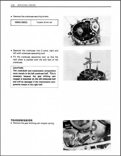 83-86 Suzuki Alt 125 3 Wheeler Service Repair Workshop Manual CD .. Alt125