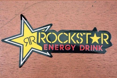 1 New stickers/decals Rockstar Energy Motocross ATV Racing Free shipping 03