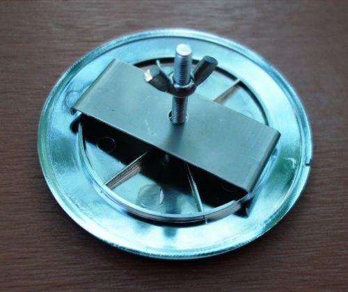 JDM JAF Universal Japan Automotive Federation emblem Front badge Gold
