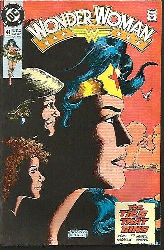 WONDER WOMAN #41 VF- 1990 DC Comics Perez Newell