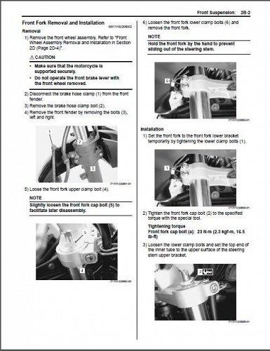 2007-2008-2009 Suzuki GSF650 / GSF650S / GSX650F Bandit Service Manual on a CD