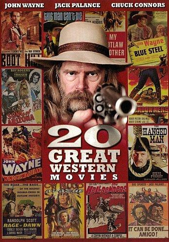 20movie DVD Lee Van CLEEF Steve FORREST Chuck CONNORS Jack PALANCE Guy MADISON