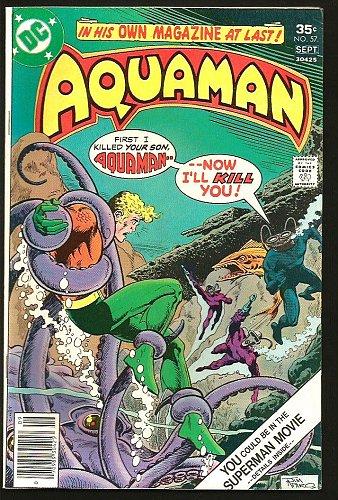 AQUAMAN #57 DC Comics 1977 Bronze Age 1st print and series VF- or better