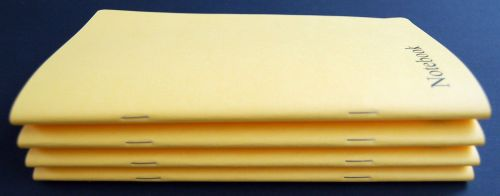 4 x A5 Note books (80 plain pages) top quality books