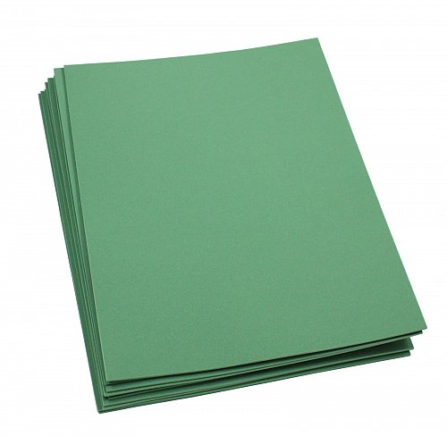 Craft Foam Sheets--9 x 12 Inches - Kelly Green- 10 Sheets-2 MM Thick