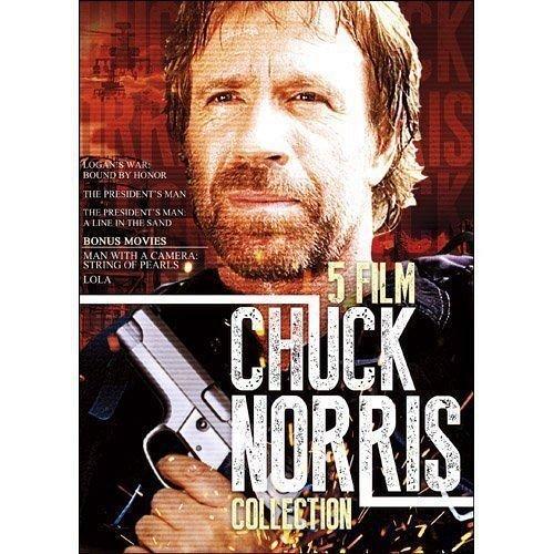 5Movie color DVD Chuck NORRIS,LOLA,Charles BRONSON Jennifer TUNG Robert URICH