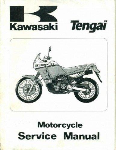 1989-1990 Kawasaki Tengai Service Repair Workshop Manual CD - KLR 650 500 KL650 KL500