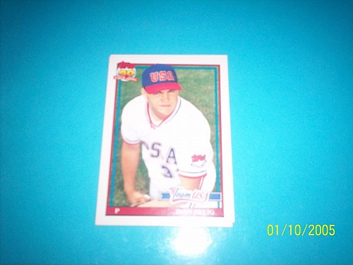 1991 Topps Traded card of rookie ivan zweig team usa #131T mint free ship