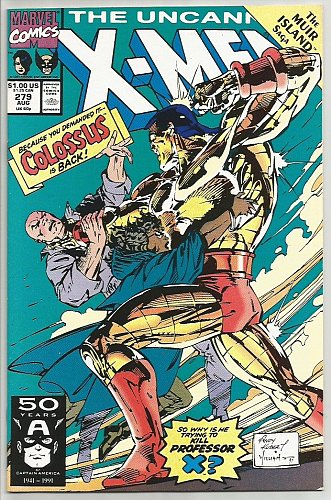 X-men #279 NM/M MARVEL COMICS High Grade 1st print & series1991