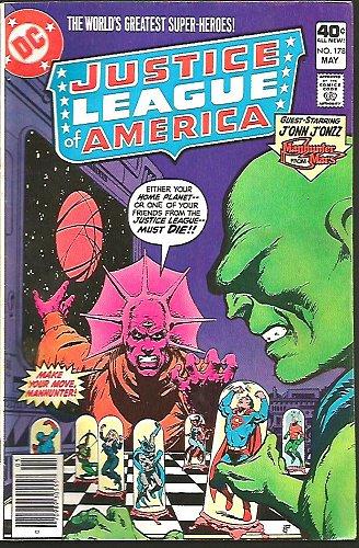 Justice League of America #178 DC COMICS 1978 Jon Jonzz Manhunter from Mars