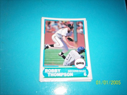 1988 Score Young Superstars series 1 baseball ROBBY THOMPSON #28 FREE SHIP
